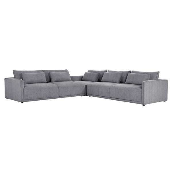 Clyde Sectional - Grey