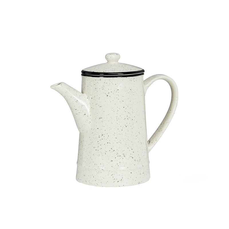 Black Speckle Coffee Pot