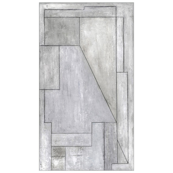 Concrete Segments Canvas