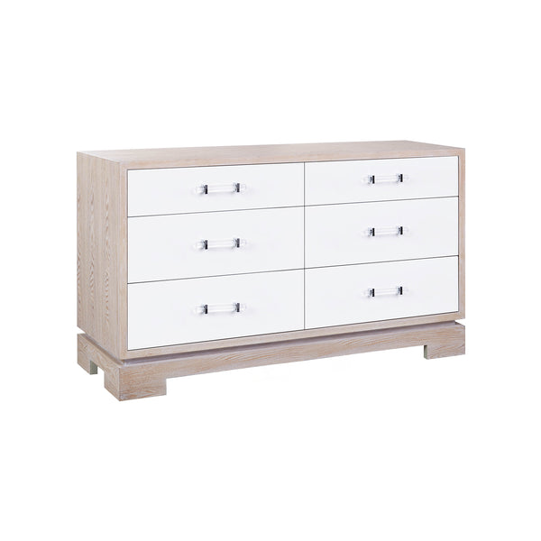 Currey 6 Drawer Dresser