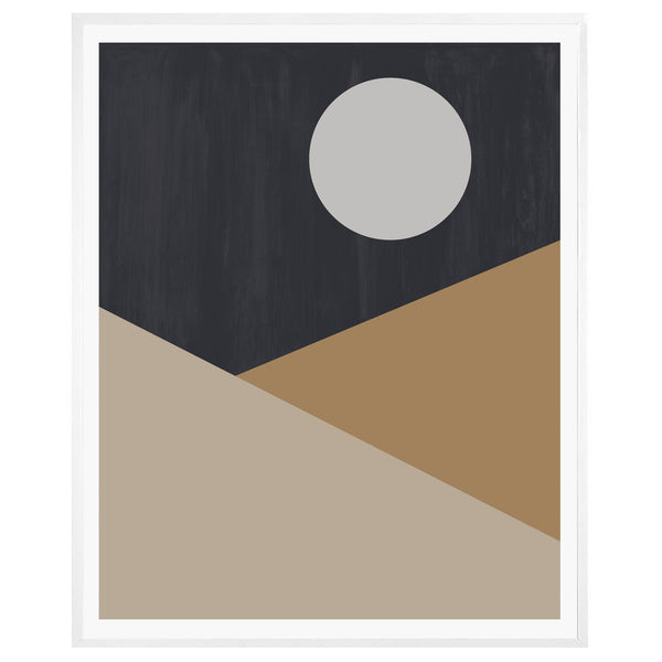 Dark Moon Framed Print