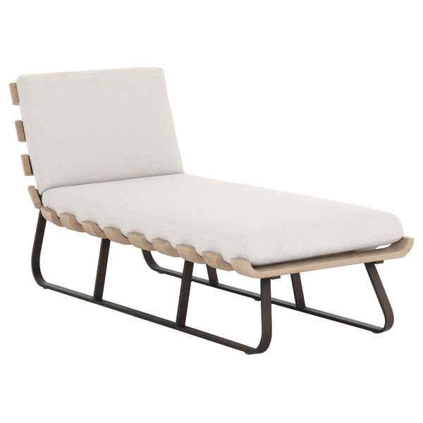 Anisha Outdoor Daybed - Stone Grey