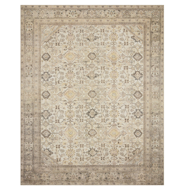 Deven Cream/Latte Rug