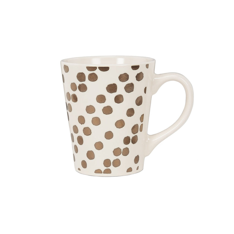 Metallic Dots Mug