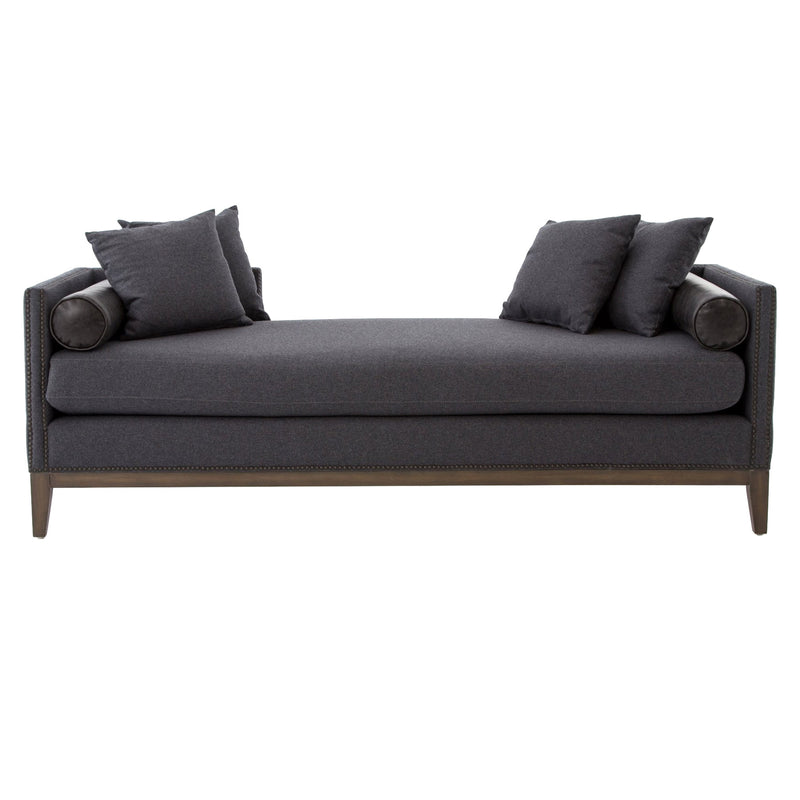 Olston Double Chaise - Charcoal