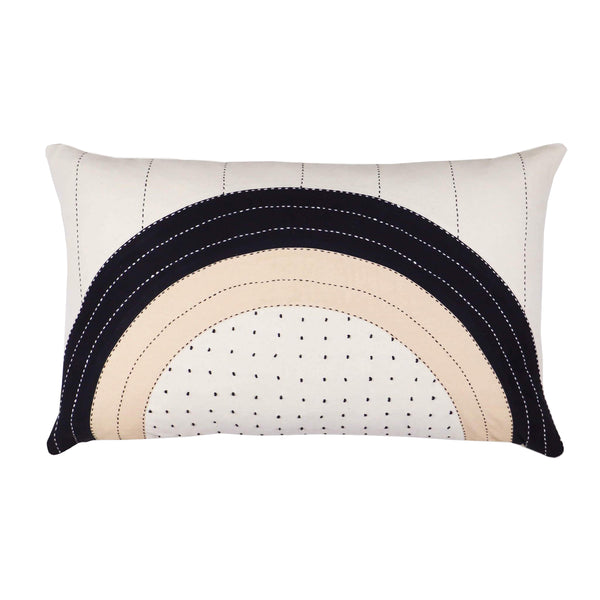 Eclipse Dot Lumbar Pillow