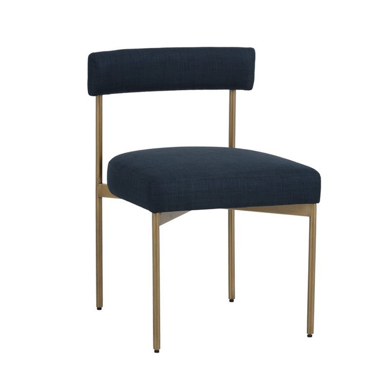 Ensley Dining Chair - Navy