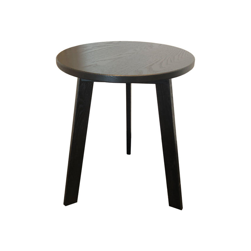 Evan Side Table - Black Oak