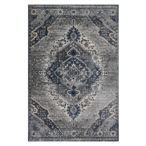 Everly Silver/Grey Rug