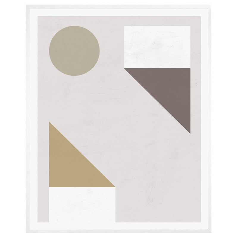 Explore Abstract Framed Print