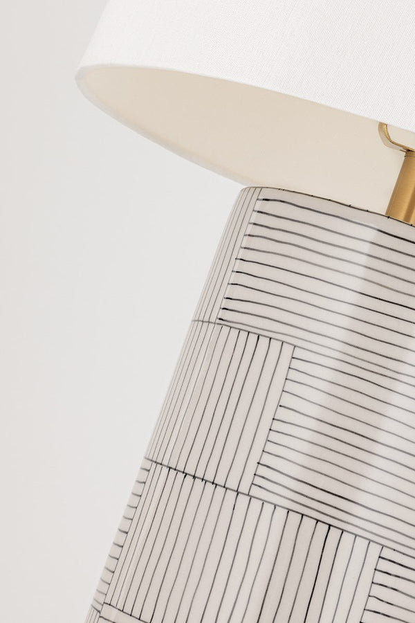 Palet Table Lamp - Striped