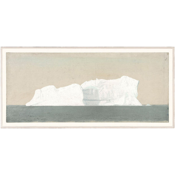 Iceberg Sea Framed Print