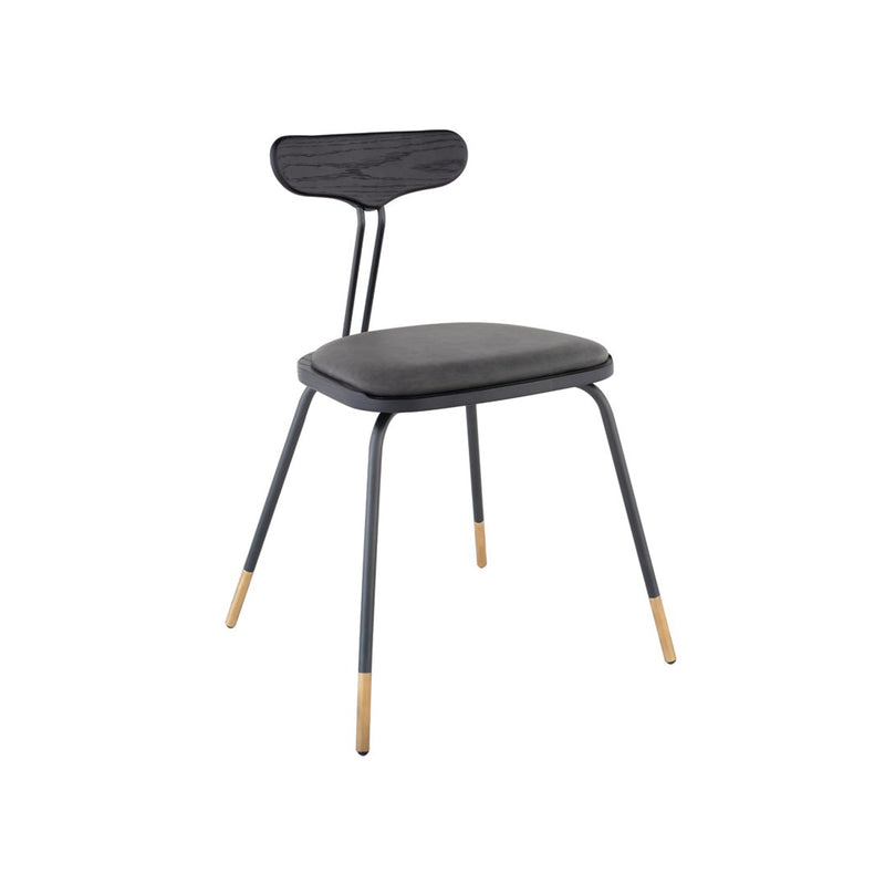 Flux Dining Chair - Black