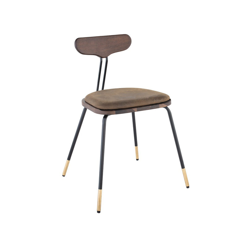 Flux Dining Chair - Smoked