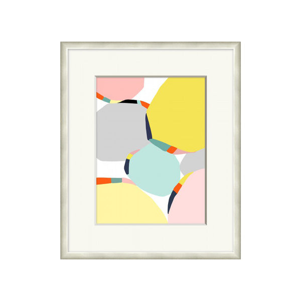 Vibrant Abstract Framed Print