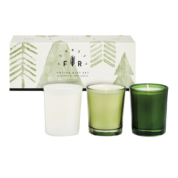 Frost & Fir 3-Pack Votive Gift Set