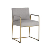 Garreth Dining Chair - Cement