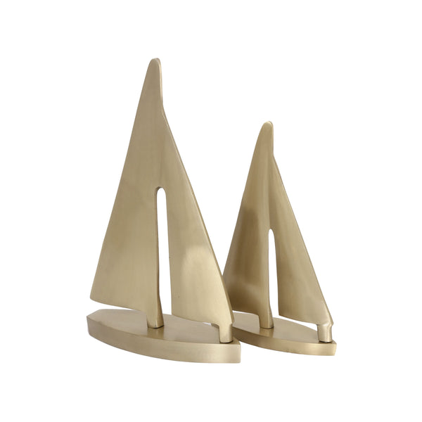 Sail Gold Sculpture