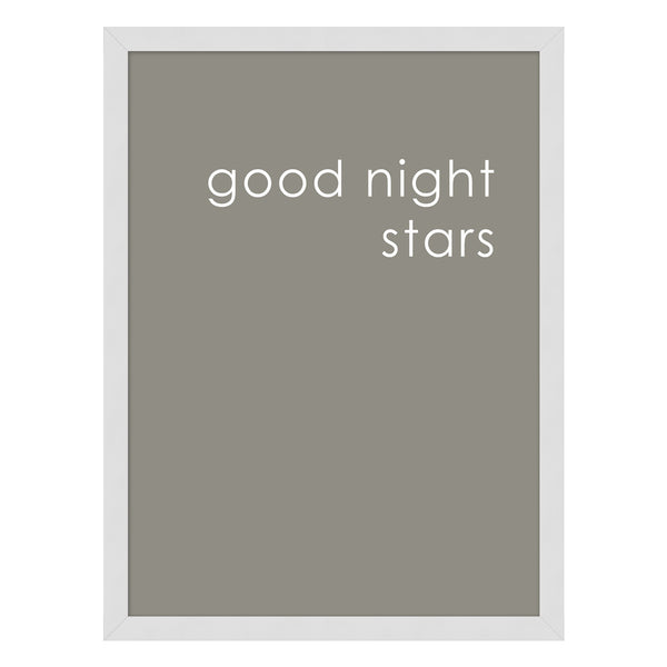 Goodnight Stars Framed Print