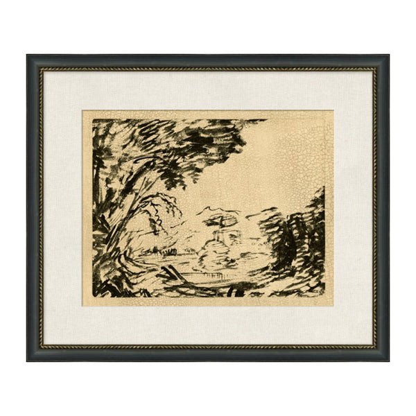 Wandering Wood Framed Print II