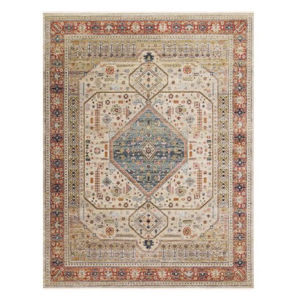 Graham Persimmon / Antique Ivory Rug