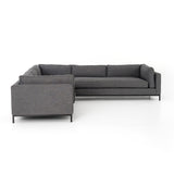 Grammercy Charcoal Grey 3 Piece Sectional
