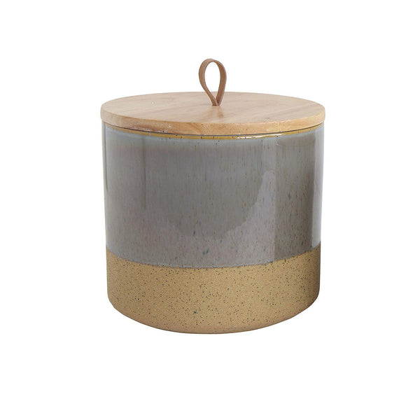Stoneware Canister - Grey