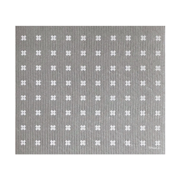 Drying Mat - Tiny X Grey