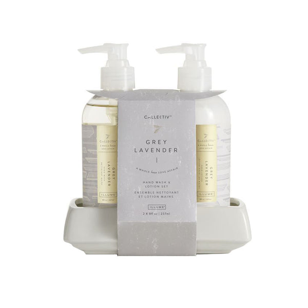 Grey Lavender Handcare Set