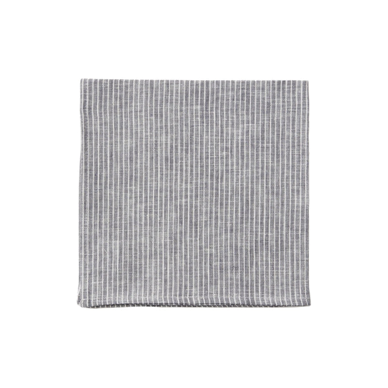 Grey/White Stripe Napkin