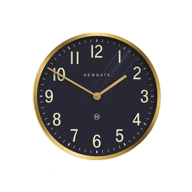 Mr. Edwards Wall Clock - Brass