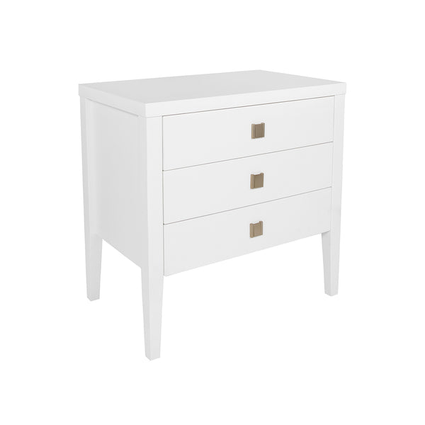 Hara 3 Drawer Nightstand