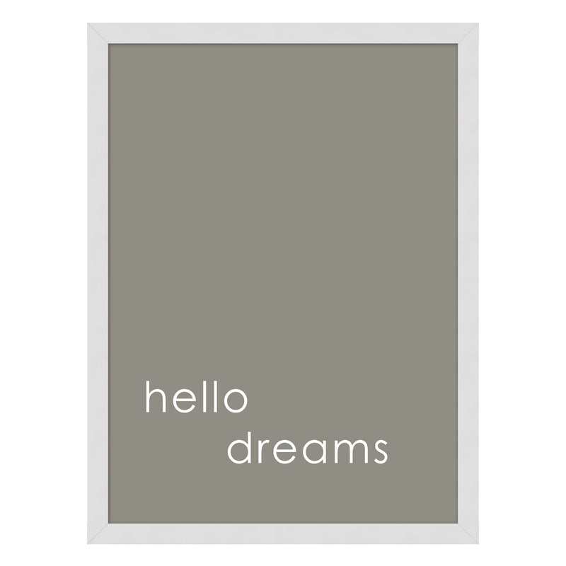 Hello Dreams Framed Print