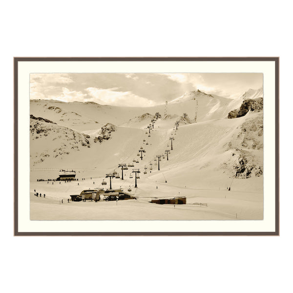 Hit the Slopes! Framed Print
