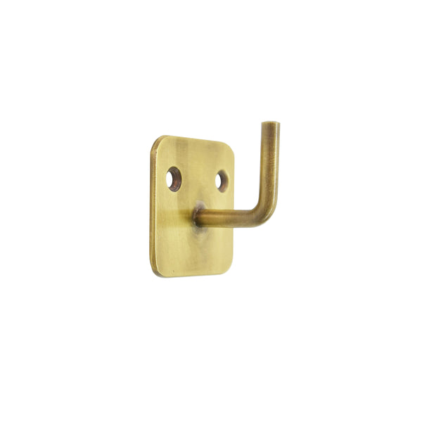Brass Plate Single Hook
