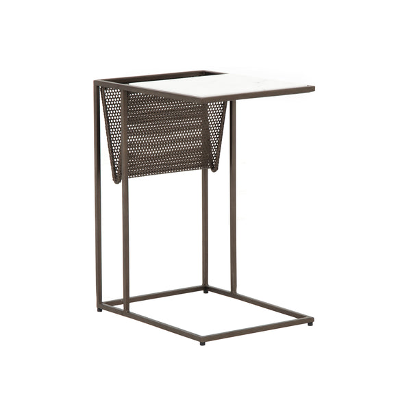 Huffman Side Table - Brass