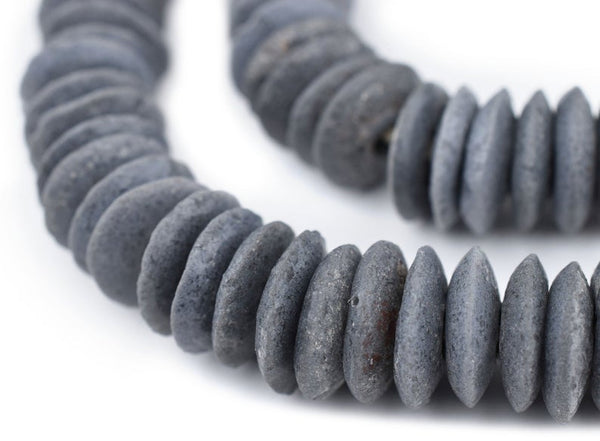 Dark Grey Ashanti Beads