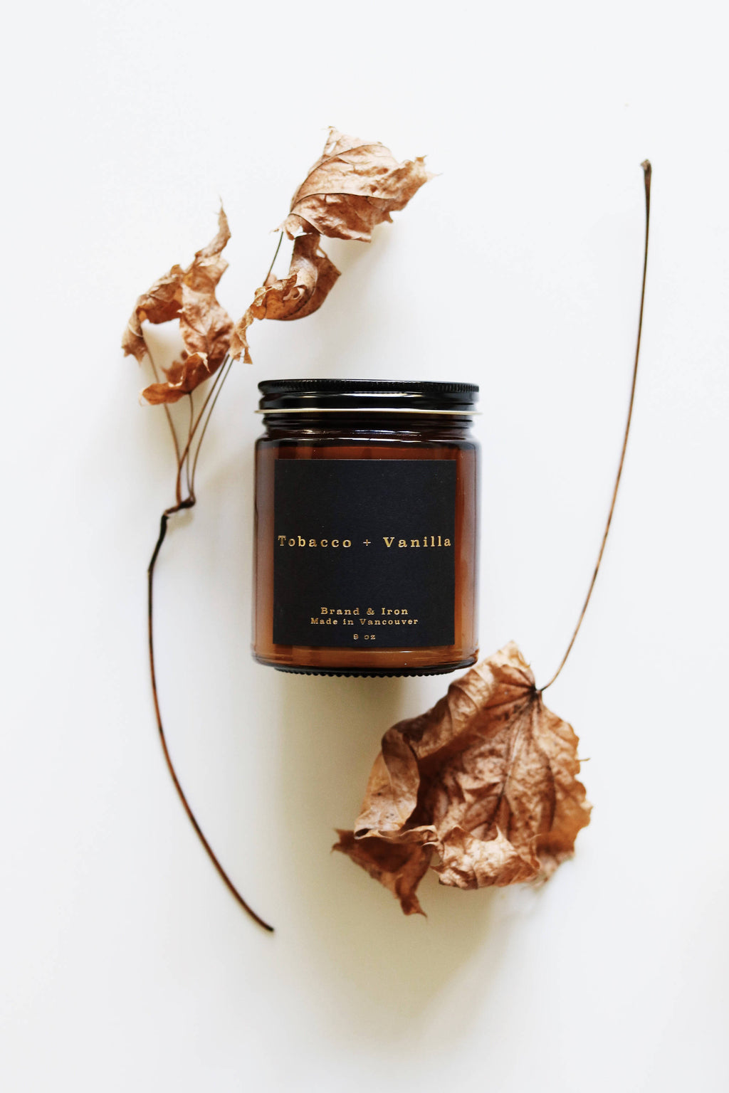 Tobacco + Vanilla Dark Spaces Candle