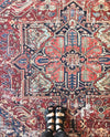 Lucca Red / Blue Rug