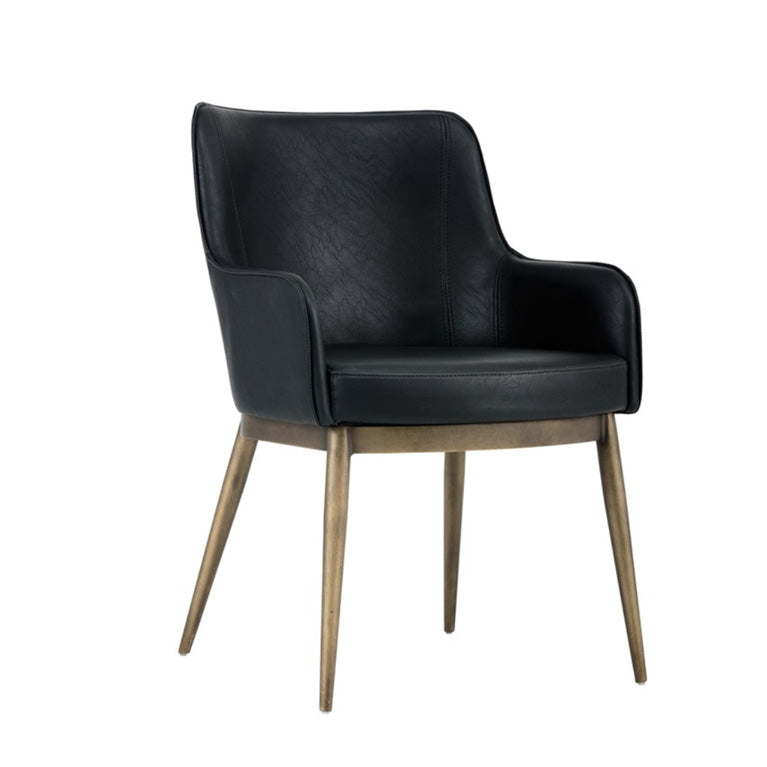 Iris Black Dining Chair