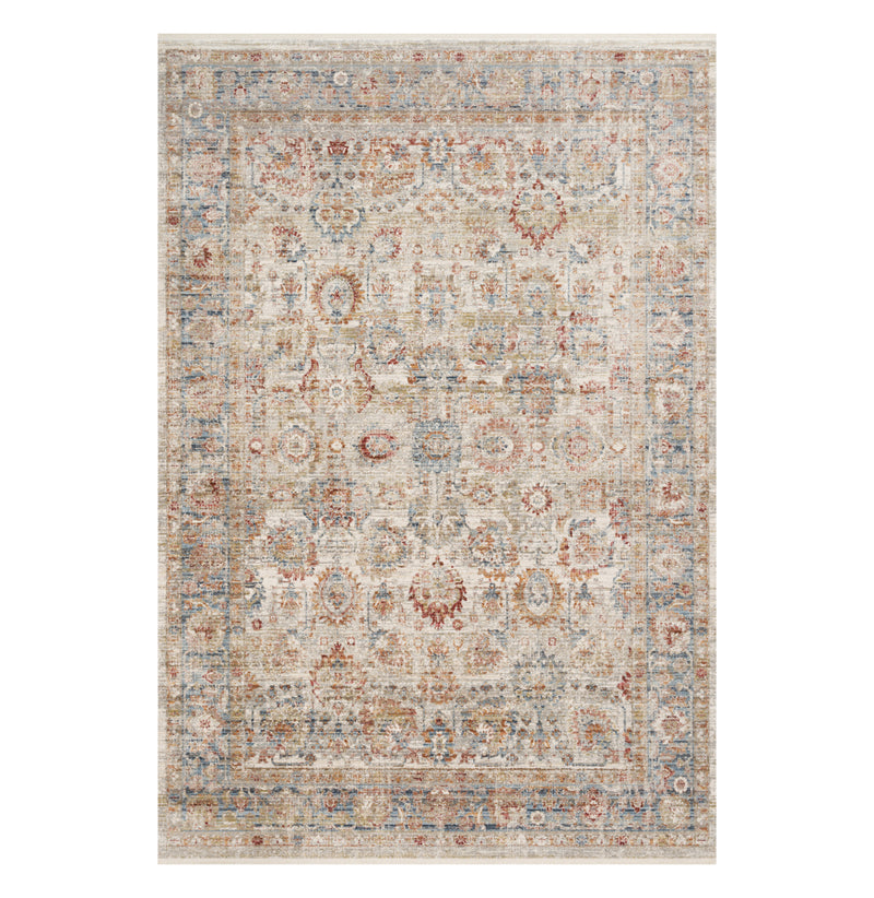 Claire Ivory/Ocean Rug