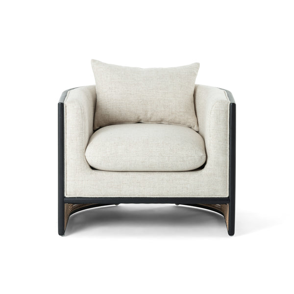 Janna Black Armchair