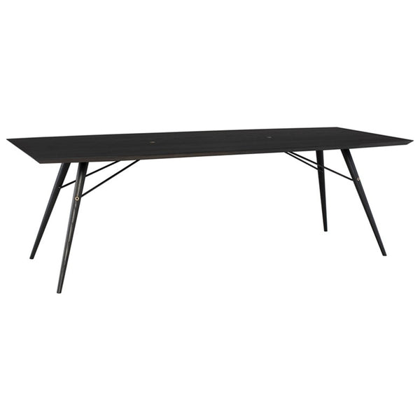 Jax Dining Table - Ebonized