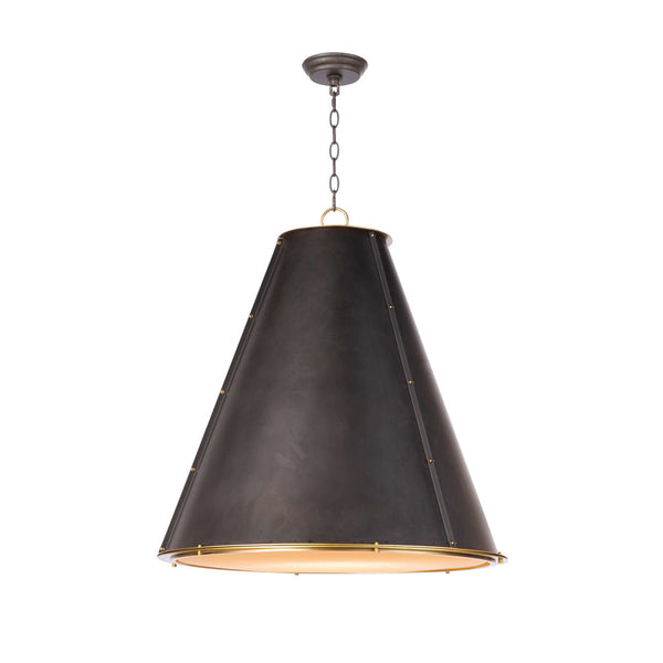 Jolie Large Pendant - Black