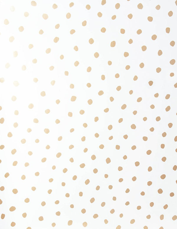 Sisters of the Sun Wallpaper - Gold on Cream