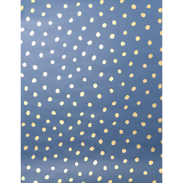 Sisters of the Sun Wallpaper - Gold on Navy