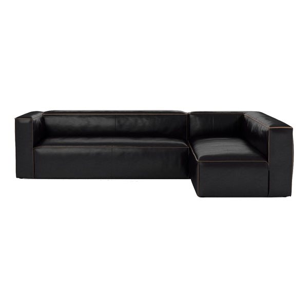 Alderny Sectional - Black