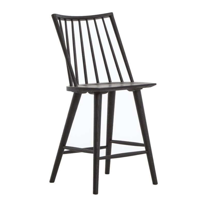 Lawrence Stool - Black Oak