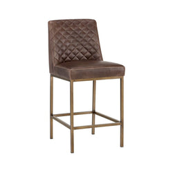 Leigh Counter Stool - Brown