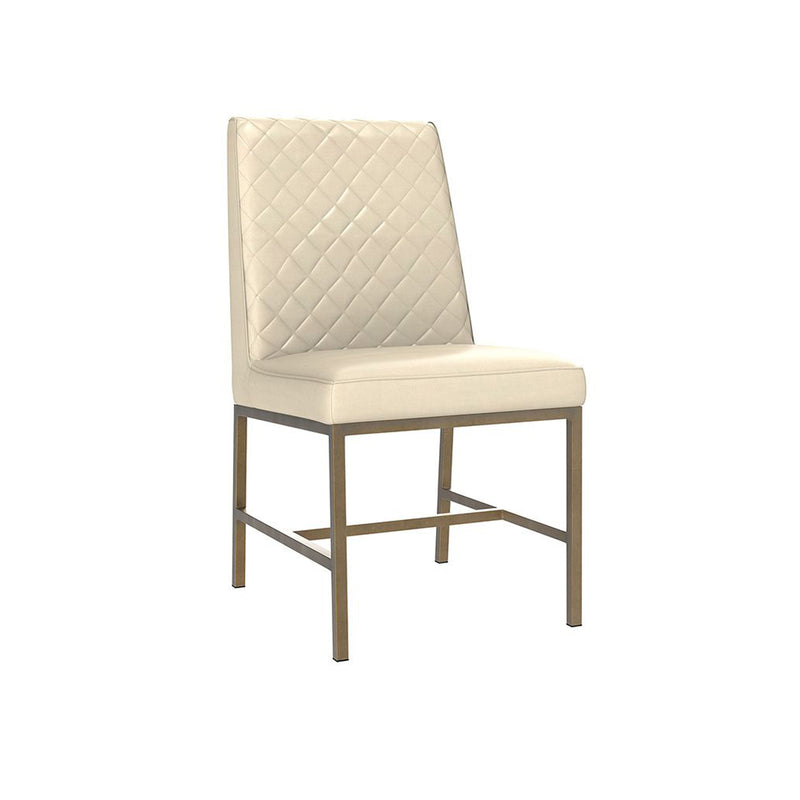 Leigh Dining Chair - Cream